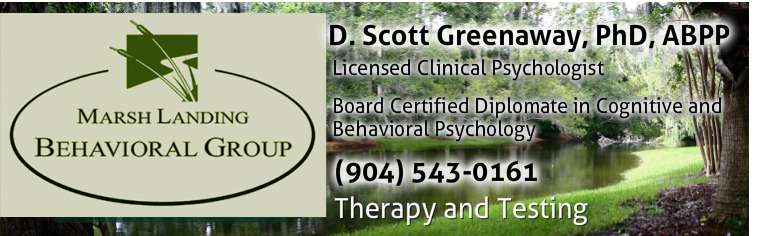 D. Scott Greenaway, Ph.D. (904) 395-1772Clinical Psychologist